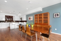 The formal dining room is great for entertaining.