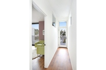 The upper deck can be accessed through it's own hallway creating privacy for the Master bedroom.